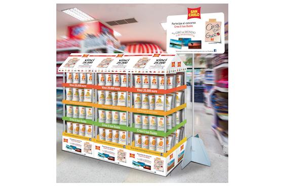 San carlo premia i consumatori con crea il tuo gusto for San carlo crea il tuo gusto