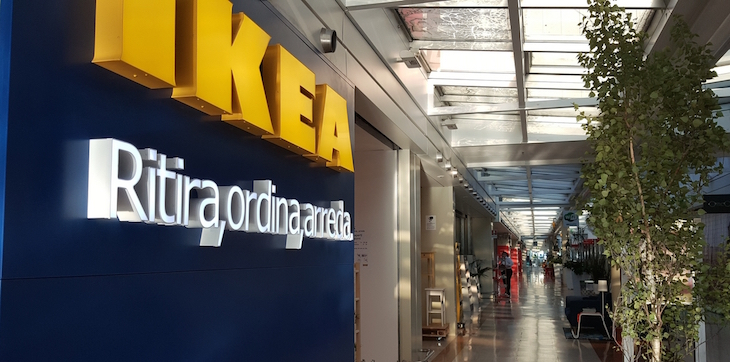 Ikea La Prima Volta In Un Centro Commerciale Allauchan Collatina