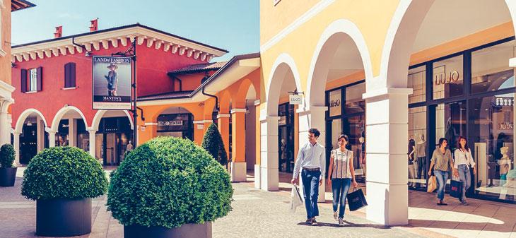 Danny Rose e Annarita N aprono al Mantova Outlet Village - InStore