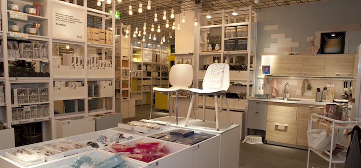 Ikea apre un Pop-up nel centro di Roma, dedicato alla cucina - InStore