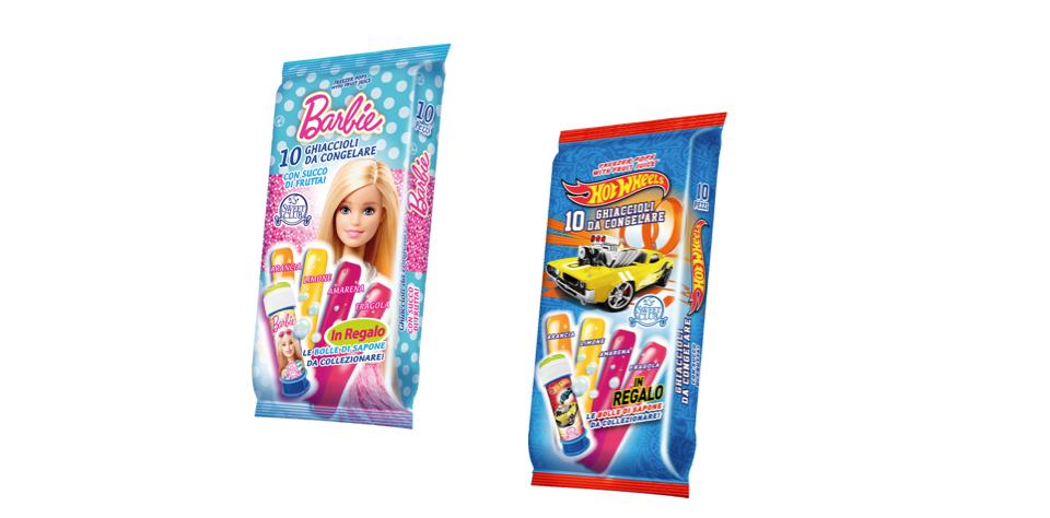 Barbie e hot wheels e il ghiacciolo servito instore - Barbie senza colore ...