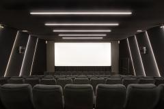Sala 1 da 104 posti, visione dello schermo