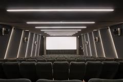 Sala 2 da 103 posti, visione dello schermo