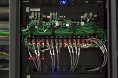 1 sistema di distribuzione fibra ottica