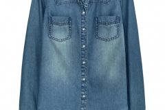 Camicia jeans scura