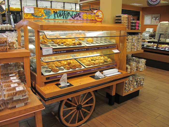 carrettino muffin