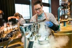 Nitro ice cream maker, l'Affogato hi-tech
